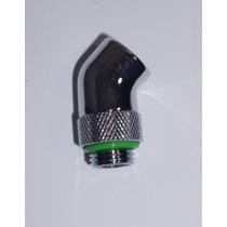 Adaptador Rotativo 45° Rosca G 1/4 Water Cooler Watercooler