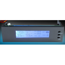 Monitor De Temperaturas C/ Controlador De Fan Led Azul