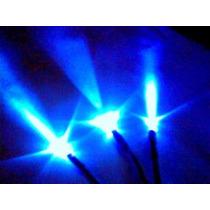 Kit 6 Led Alto Brilho Neon Conector Casemod Luz Negra Azul