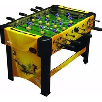 Mesa Pebolim Totó Futebol C/ Contagem - 2 Opções Cores Mor