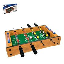 Mini Mesa De Pebolim Jogo De Futebol 51x31x10 Cm