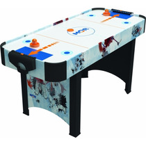 Jogo Mesa De Disco Air Hockey Rush P/ Bares Mor