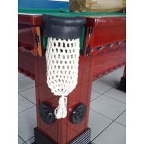 Caçapa Completa Especial /r. Couro Bilhar / Snooker / Sinuca