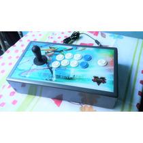 Controle Fliperama Ps2 Ps3 Pc Arcade Fun