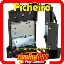 Ficheiro Para Fliperama Bartop Com Micro De Coin Kit Arcade