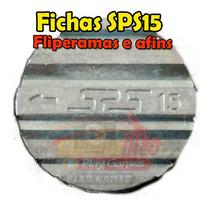200 Fichas Ficha Sps15 E Ranhura Sps 15 Para Ficheiro Bartop