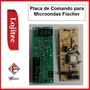 Placa De Comando 220v Para Microondas Fischer Inox Embutir