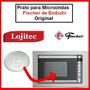 Prato Para Microondas Fischer 23 Litros De Embutir Original
