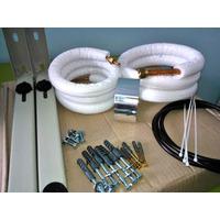 Kit Instalação Ar Condicionado Split Tubos Cobre 4,0m.