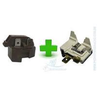 Relé Ptc E Protetor Térmico Universal Geladeiras E Freezers