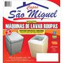 Capa Maquina E Tanquinho De Lavar Roupas Corino Resistente