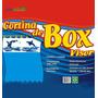 Cortina Para Box Com Visor - Estampa Baleia - 2,00m X 1,38m