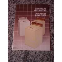 Manual De Instruções Lavadoras Brastemp Modelo 61l 61s 61g