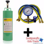 Gas R22 2kg, 1 Manifold De Baixa Pressão 2 Mangueiras 0,90cm