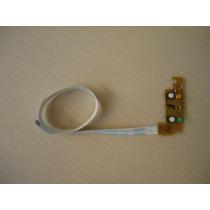 Tecla Power Com Cabo Flat P/ Impressora Epson Stylus T25