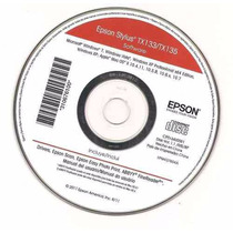 Cd De Instalação Epson Stylus T25 Tx123 Tx125 Tx133 Tx135