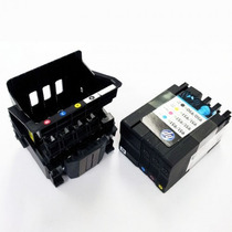 Cabeça De Impressão + 4 Cartuchos Setup Hp 8600/8610/8620