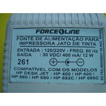 Fonte De Alimentação Para Impressora Hp Deskjet