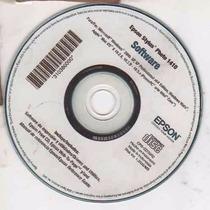Cd De Instalação P/ Impressora Epson Stylus Photo 1410