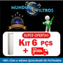 Cartucho Kit 6pçs Refil Filtro Tinabras Aqualar 3m Pentair