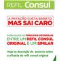Refil Consul P/ Filtro Purificador De Água Facilite Similar