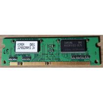Módulo   Pente   De Memória 32mb Pc133 P/ Samsung Scx-5530