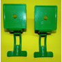 Kit 2 Torneira Valvula Completa Verde Jt Maquina D Suco Bras