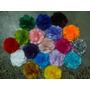 50 Un Flores Tecidos , Tiaras E Acessórios, 4cm