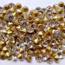 Ponto De Luz Cristal Para Chinelos Pacote 50 Pedras