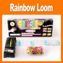 Elásticos Coloridos - Kit Loom Completo Para Fazer Pulseira