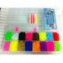 Rainbow Loom Completo Tear + Kit 3.200 + Maleta + Agulha