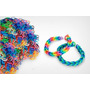 Pct 6000 Elásticos Borrachinha Rainbow Loom Bands Pulseira