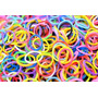 Pct 600 Elásticos Borrachinha Rainbow Loom Bands P/ Pulseira