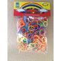 Elásticos Rainbow Loom Bands Refil Sortido . Frete + Barato