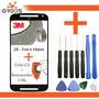 Tela Vidro Moto G 2 Xt1068 1069 + Cola Uv + Removedor +chave