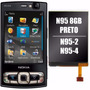 Lote Kit - Display Tela Lcd Visor Celular Nokia N95 8gb N96