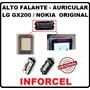 Alto Falante Auricular 100% Original Lg Gx200 Nokia 5130