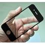 Tela Vidro Touch Screen Iphone 4/4s Só Preta 1 Pç