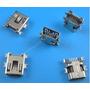 Conector Mini Usb 5 Pinos Femea Tablet Gps Celular Mp3 Mp4