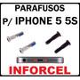 Kit Com 2 Parafusos Pentalobe Iphone 5 / 5c / 5s Frete 7,00