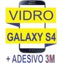 Vidro Tela Visor Samsung Galaxy S4 I9400 Azul + Adesivo 3m