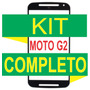 Tela Vidro Moto G2 Xt1068 Xt1069 + Kit Remoção De Cola Uv