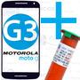 Tela Vidro Moto G 3 Xt1543 Xt1544 G3 + Fita 3m + Cola Uv