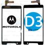 Tela Vidro Touch Motorola Razr D3 Xt919 Xt920 Original