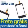 Tela Touch Vidro Nokia Lumia N720 Original Envio Já + Fita
