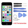 Tela Display Lcd Touch Screen Apple Iphone 5c + Kit Ferramen