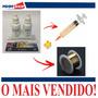 Cola Uv + Kit Remoção + Fio + Dupla Face 50 Mt + 4 Grampos