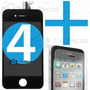 Tela Touch Display Lcd Iphone 4 4g Original + Pelicula Vidro