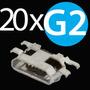 Kit 20x Conector Carga Moto G 2 G2 Xt1068 Xt1069 Original