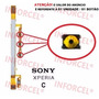 Botão Tecla Volume E Power (liga / Desliga) Sony Xperia C